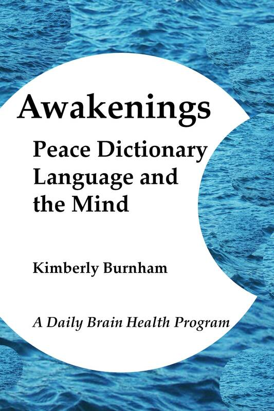 Peace Poetry & Brain Health Exercises Daily Words - KIMBERLY